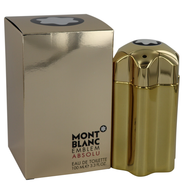 Montblanc Emblem Absolu by Mont Blanc 3.4 oz Eau De Toilette Spray for Men