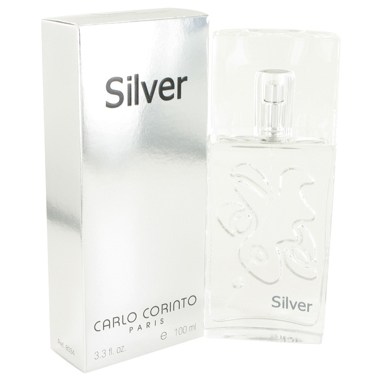 Carlo Corinto Silver by Carlo Corinto 3.4 oz Eau De Toilette Spray for Men