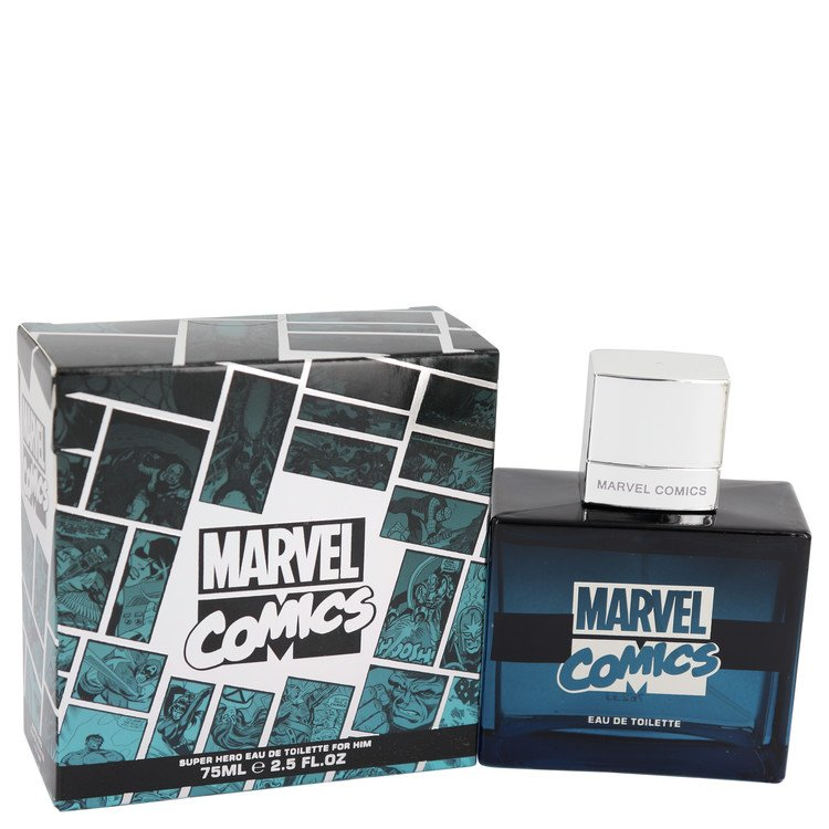 Marvel Comics Super Hero by Marvel 2.5 oz Eau De Toilette Spray for Men