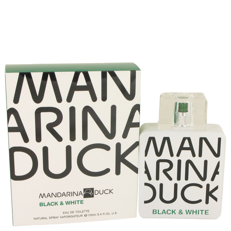 Mandarina Duck Black & White by Mandarina Duck 3.4 oz Eau De Toilette Spray for Men