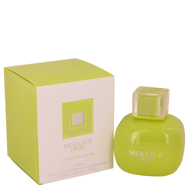 Merazur Green by Merazur 3.3 oz Eau De Parfum Spray for Women