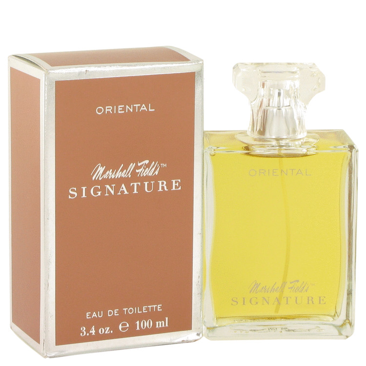 Marshall Fields Signature Oriental by Marshall Fields 3.4 oz Eau De Toilette Spray for Women