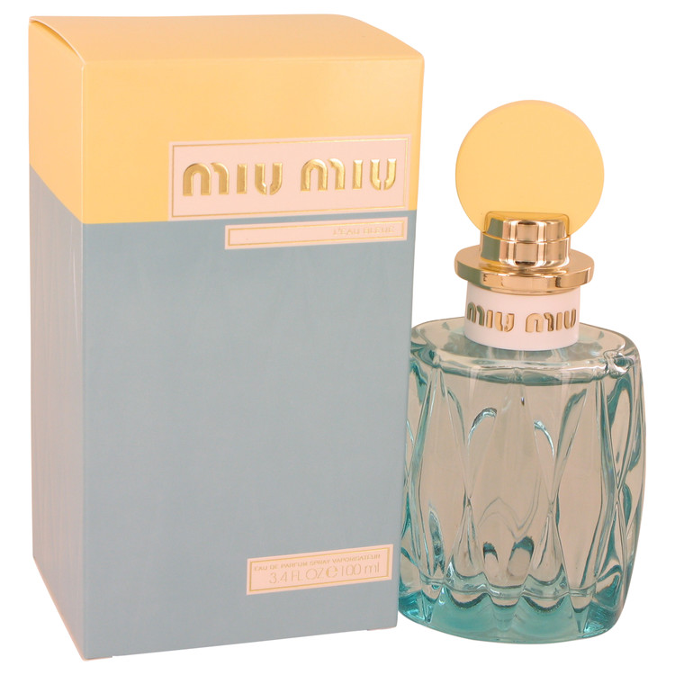 Miu Miu L'eau Bleue by Miu Miu 3.4 oz Eau De Parfum Spray for Women