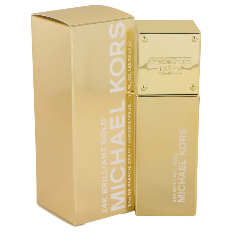 Michael Kors 24k Brilliant Gold by Michael Kors 1.7 oz Eau De Parfum Spray for Women