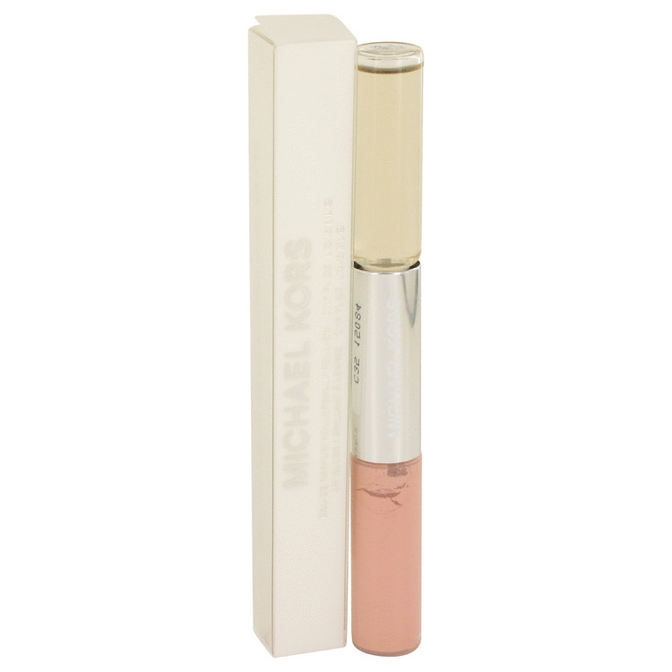 Michael Kors by Michael Kors 0.17 oz Mini EDP Roll On + .17 oz Lip Gloss for Women