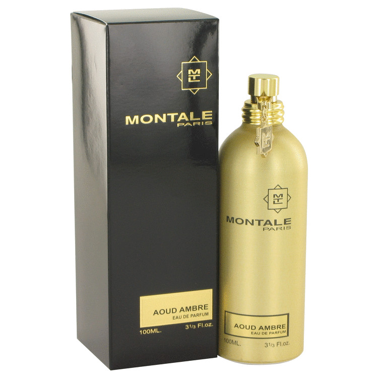 Montale Aoud Ambre by Montale 3.4 oz Eau De Parfum Spray for Women