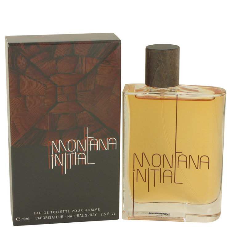 Montana Initial by Montana 2.5 oz Eau De Toilette Spray for Men