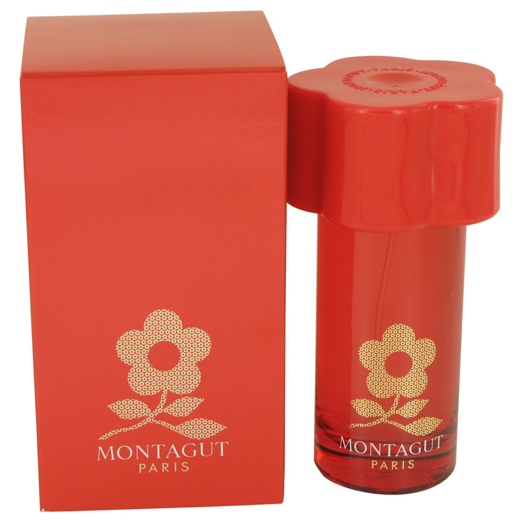 Montagut Red by Montagut 1.7 oz Eau De Toilette Spray for Women