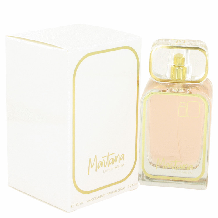 Montana 80's by Montana 3.3 oz Eau De Parfum Spray for Women