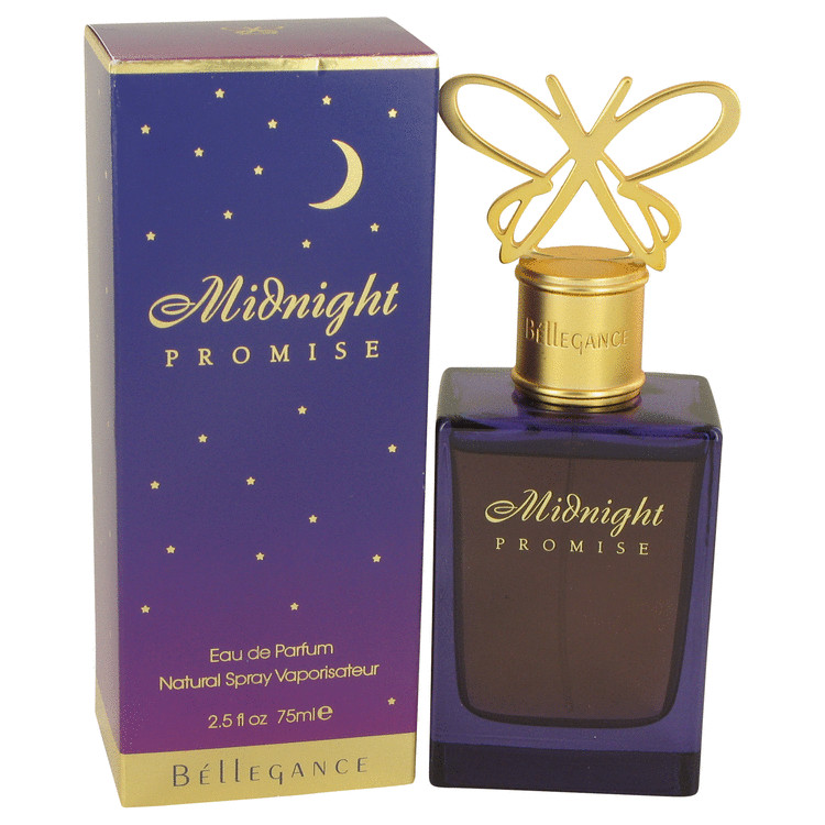Midnight Promise by Bellegance 2.5 oz Eau De Parfum Spray for Women