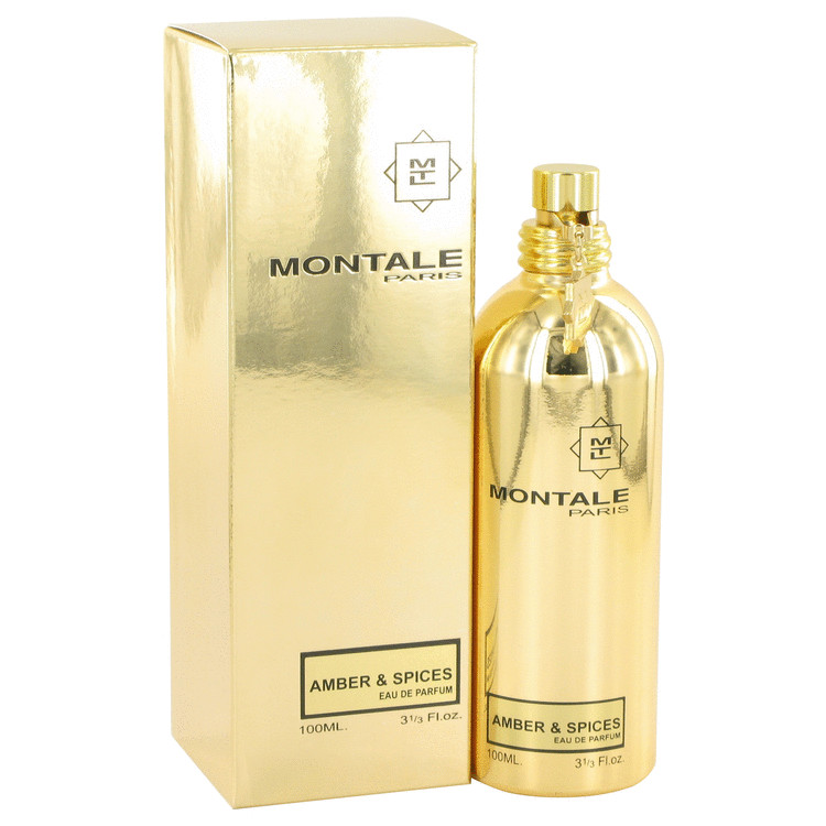 Montale Amber & Spices by Montale 3.3 oz Eau De Parfum Spray for Women