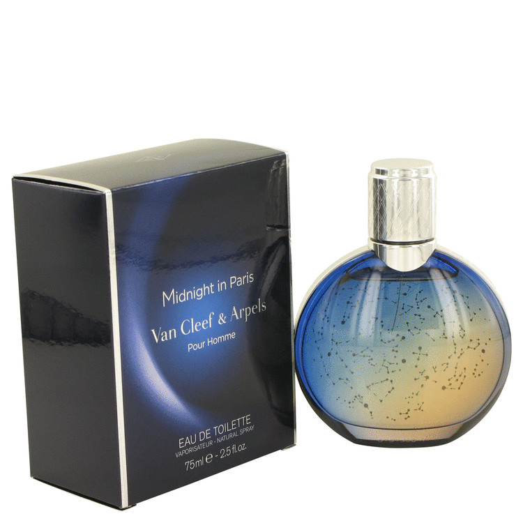 Midnight in Paris by Van Cleef & Arpels Eau De Toilette Spray 2.5 oz for Men