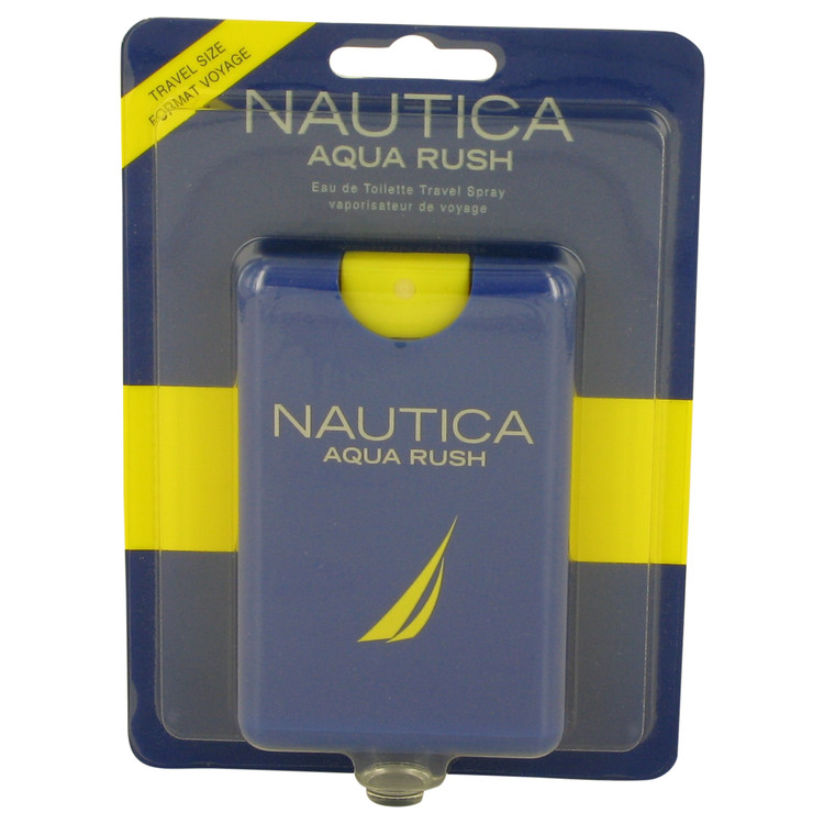 Nautica Aqua Rush by Nautica 0.67 oz Eau De Toilette Travel Spray for Men