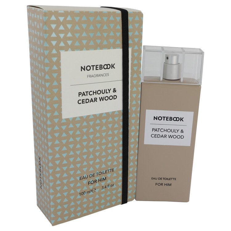 Notebook Patchouly & Cedar Wood by Selectiva SPA 3.4 oz Eau De Toilette Spray for Men