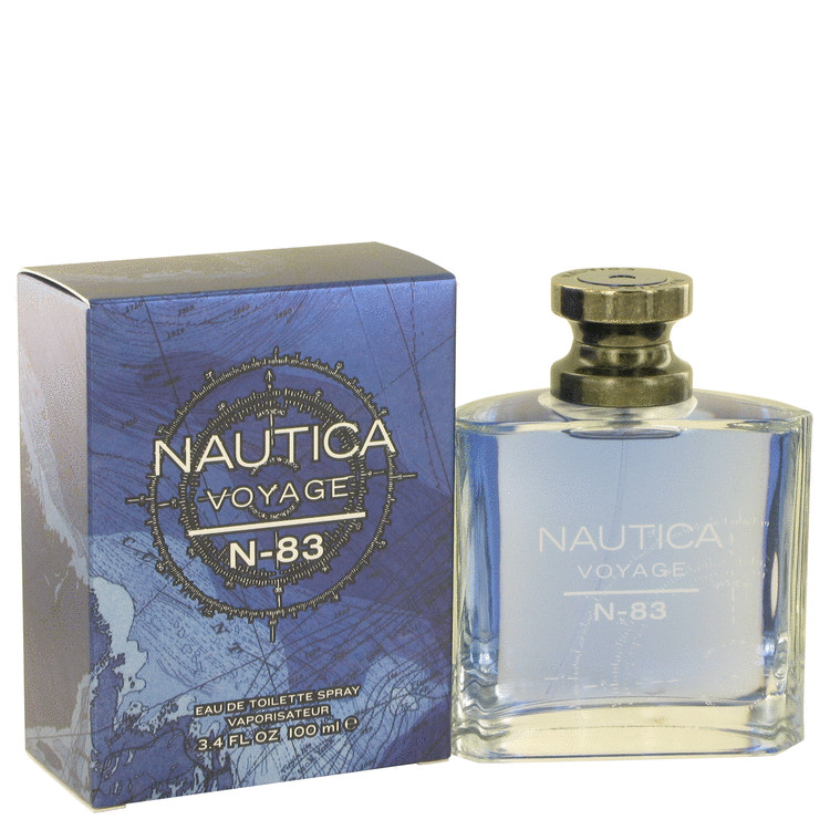 Nautica Voyage N-83 by Nautica 3.4 oz Eau De Toilette Spray for Men