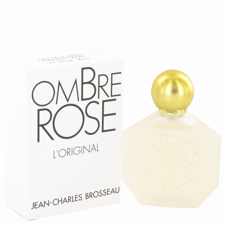 Ombre Rose by Brosseau Eau De Toilette Spray 1 oz for Women
