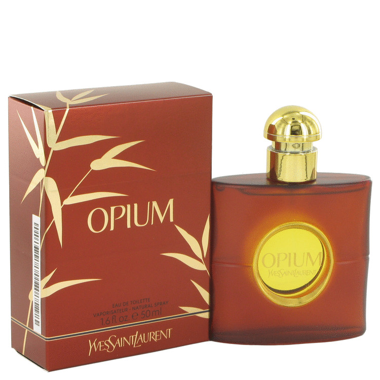 Opium by Yves Saint Laurent 1.6 oz Eau De Toilette Spray for Women