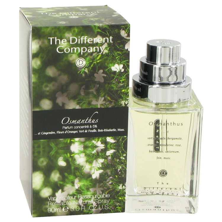 Osmanthus by The Different Company 3 oz Eau De Toilette Spray Refilbable for Women