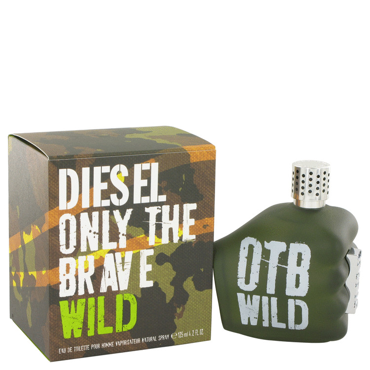 Only The Brave Wild by Diesel 4.2 oz Eau De Toilette Spray for Men
