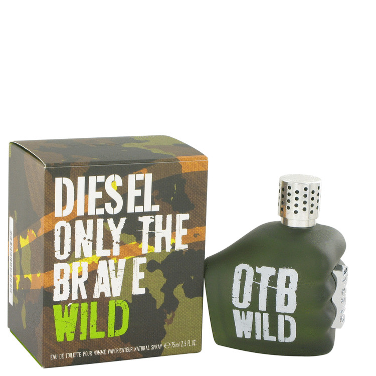 Only The Brave Wild by Diesel Eau De Toilette Spray 2.5 oz for Men