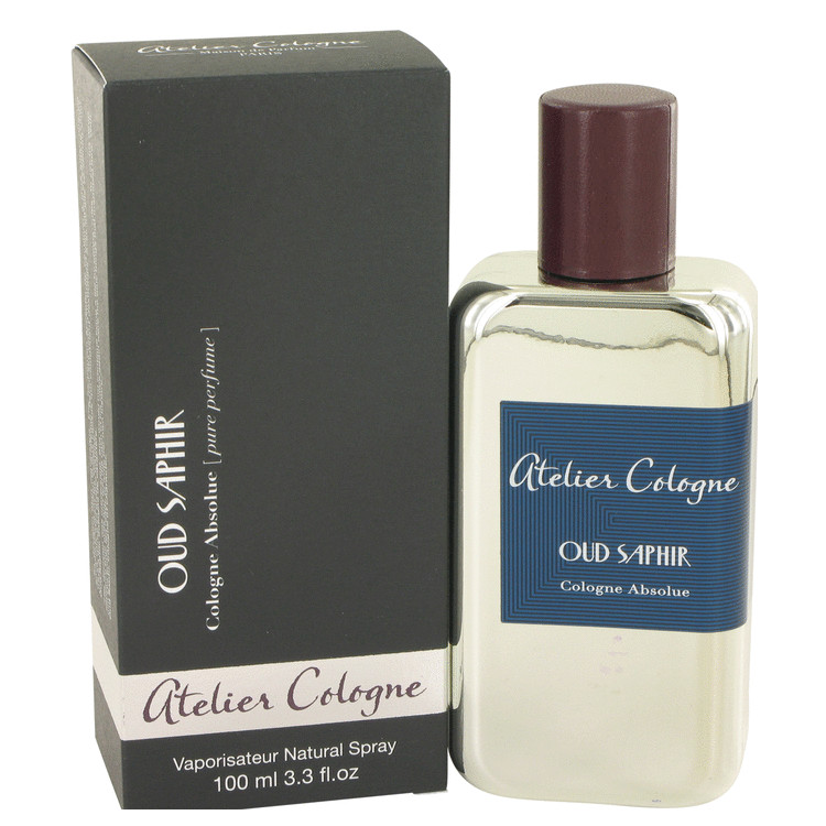 Oud Saphir by Atelier Cologne 3.3 oz Pure Perfume Spray for Men
