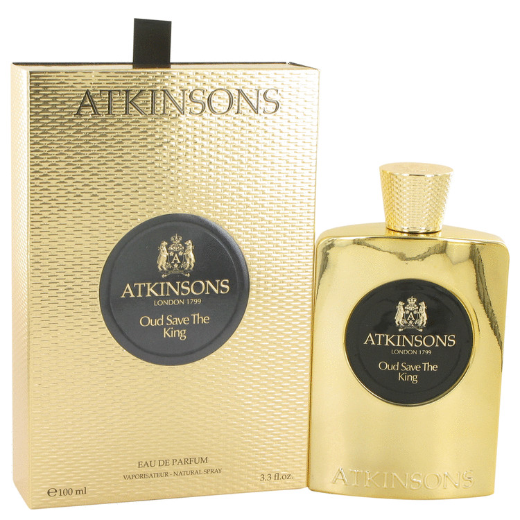 Oud Save The King by Atkinsons 3.3 oz Eau De Parfum Spray for Men