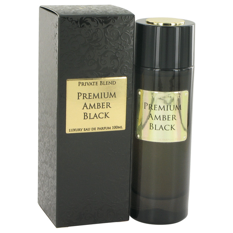 Private Blend Premium Amber Black by Chkoudra Paris 3.4 oz Eau De Parfum Spray for Men