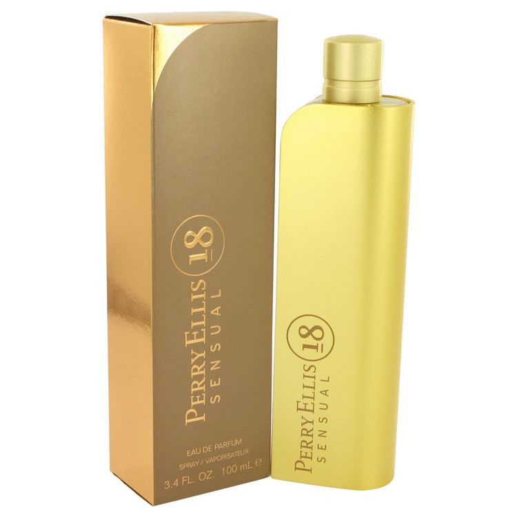 Perry Ellis 18 Sensual by Perry Ellis 3.4 oz Eau De Parfum Spray for Women