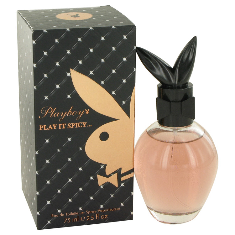 Playboy Play It Spicy by Playboy 2.5 oz Eau De Toilette Spray for Women