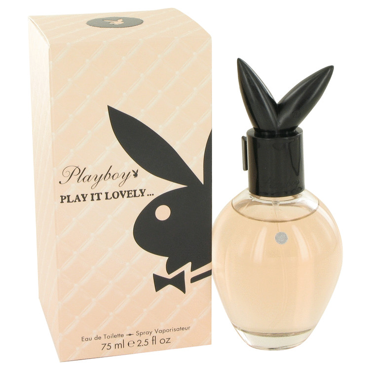 Playboy Play It Lovely by Playboy 2.5 oz Eau De Toilette Spray for Women