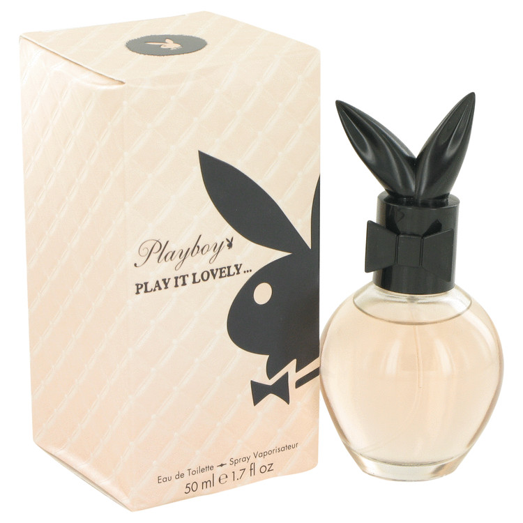 Playboy Play It Lovely by Playboy 1.7 oz Eau De Toilette Spray for Women