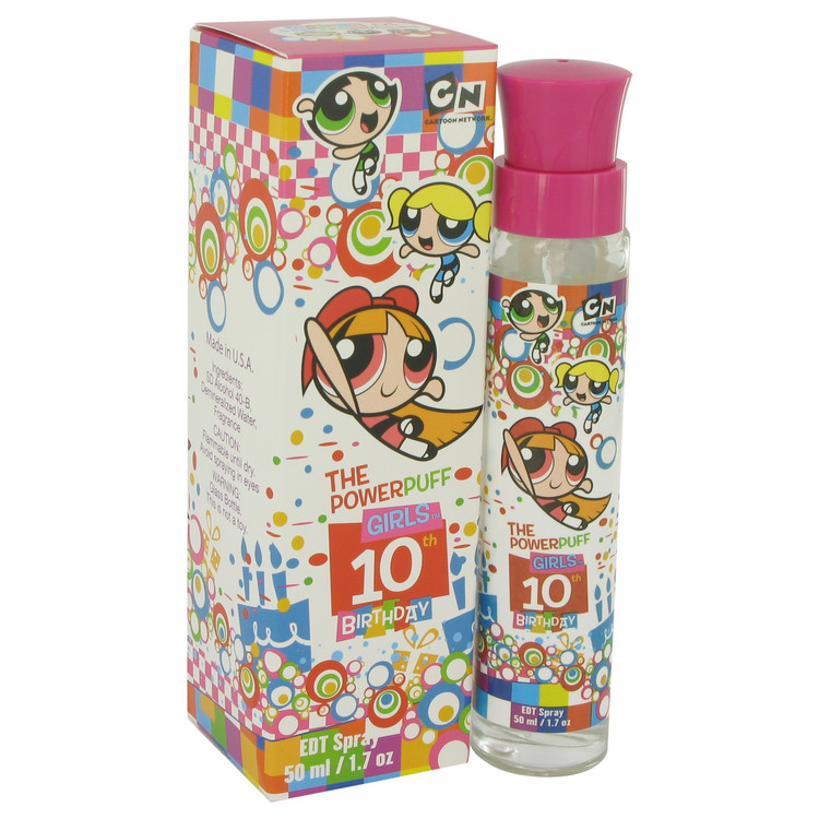 Powerpuff Girls 10th Birthday by Warner Bros 1.7 oz Eau De Toilette Spray for Women