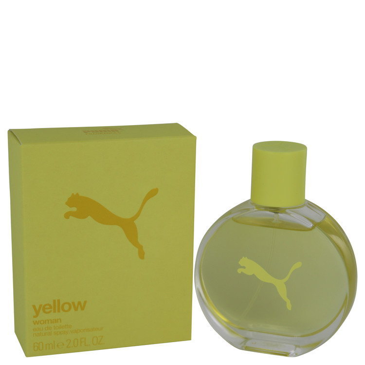 Puma Yellow by Puma 2 oz Eau De Toilette Spray for Women