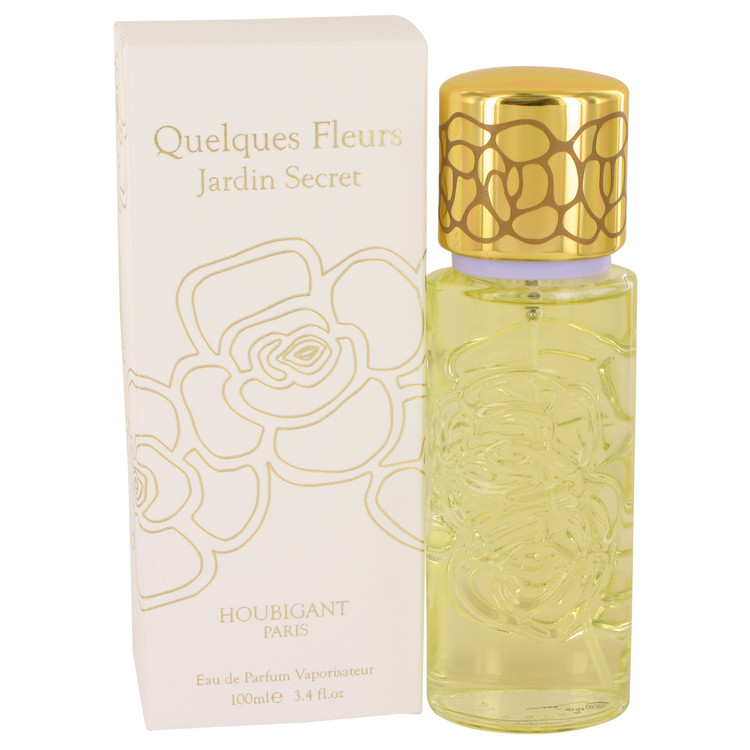 Quelques Fleurs Jardin Secret by Houbigant 3.4 oz Eau De Parfum Spray for Women