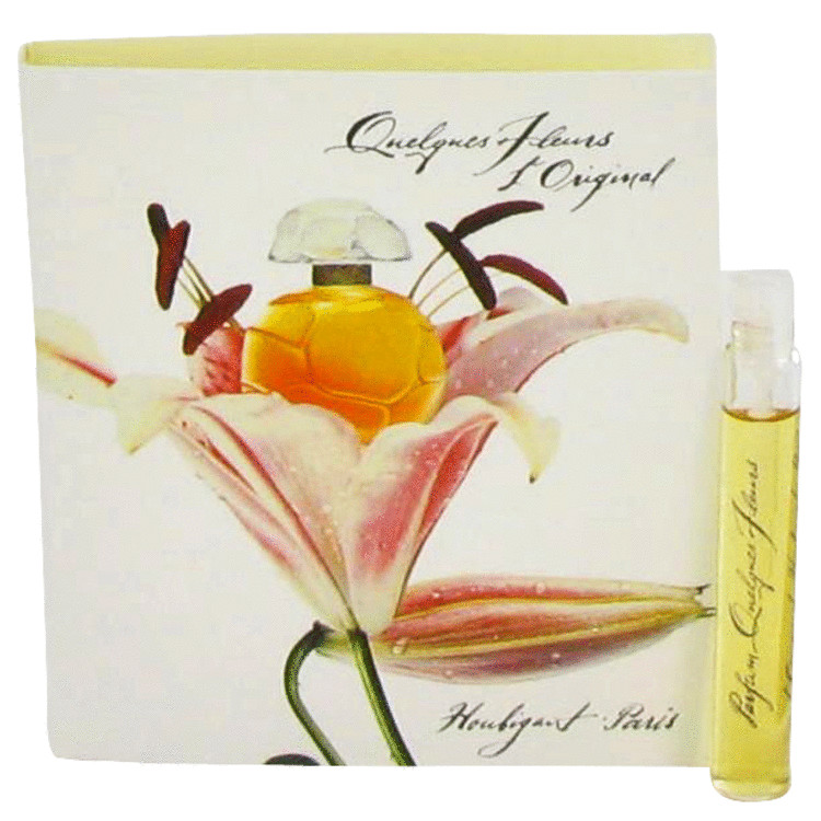 QUELQUES FLEURS by Houbigant Vial (sample) .03 oz for Women