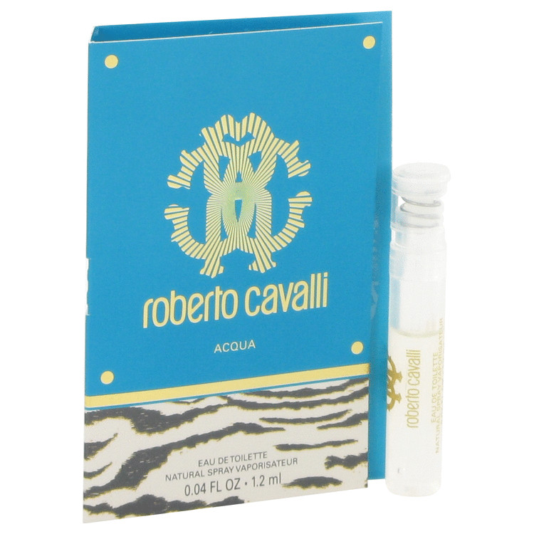 Roberto Cavalli Acqua by Roberto Cavalli Vial (sample) .04 oz for Women