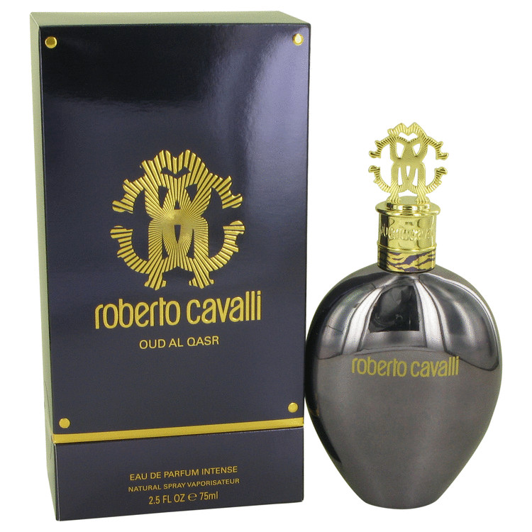 Roberto Cavalli Oud Al Qasr by Roberto Cavalli 2.5 oz Eau De Parfum Intense Spray for Women