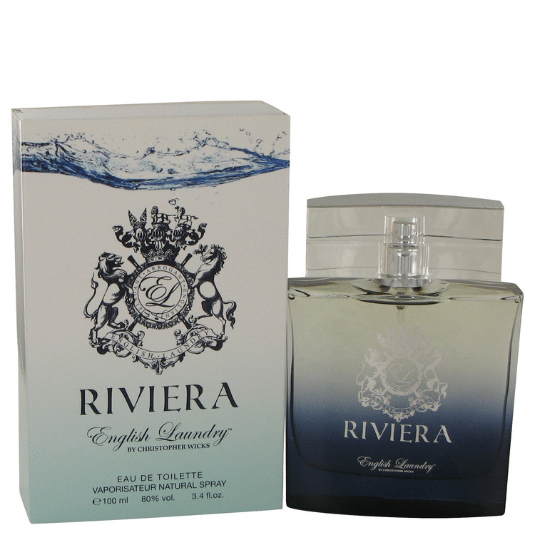 Riviera by English Laundry 3.4 oz Eau De Toilette Spray for Men
