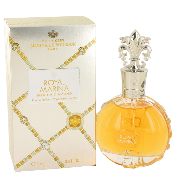 Royal Marina Diamond by Marina De Bourbon 3.4 oz Eau De Parfum Spray for Women