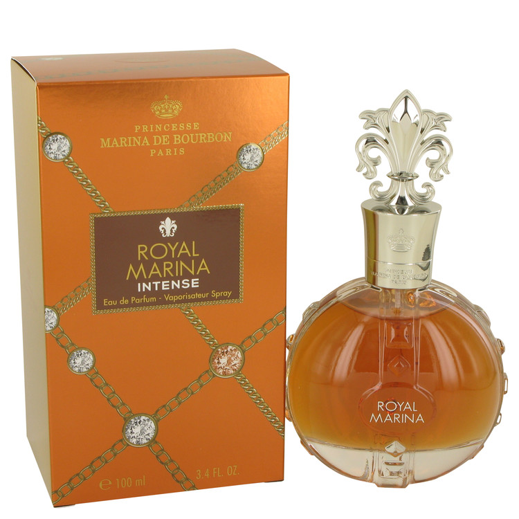 Royal Marina Intense by Marina De Bourbon 3.4 oz Eau De Parfum Spray for Women