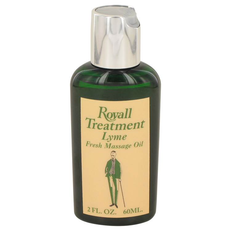 Royall Lyme by Royall Fragrances 2 oz Fresh Massage Oil for Men
