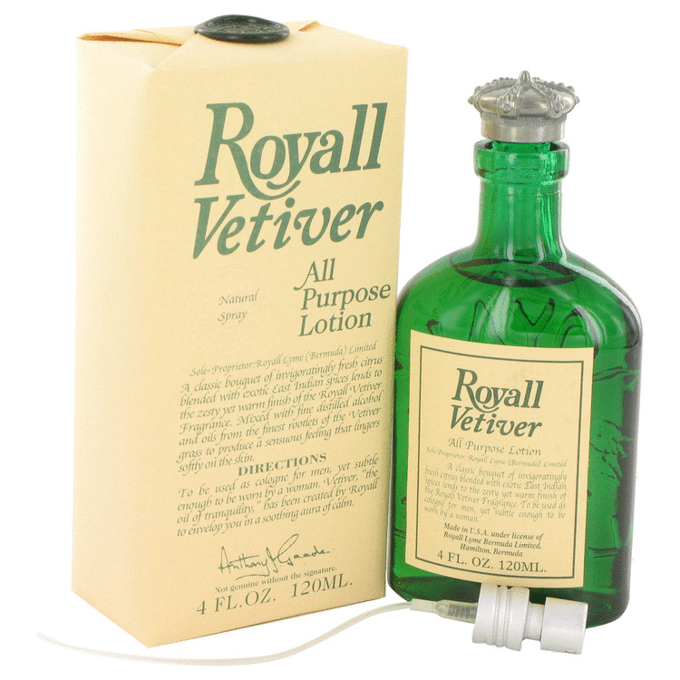 Royall Vetiver by Royall Fragrances 4 oz All Purpose Lotion for Men