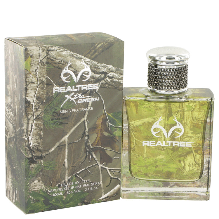 RealTree by Jordan Outdoor Eau De Toilette Spray 3.4 oz for Men