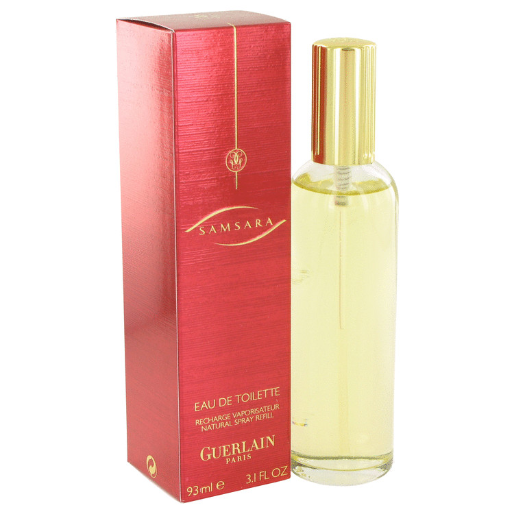 SAMSARA by Guerlain Eau De Toilette Spray Refill 3.1 oz for Women