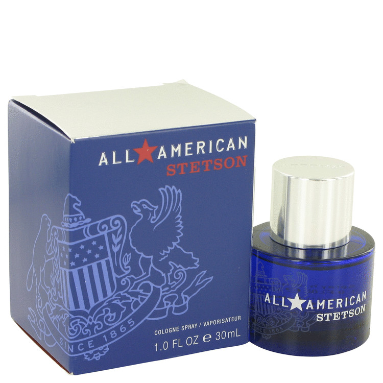 Stetson All American by Coty 1 oz Cologne Spray for Men