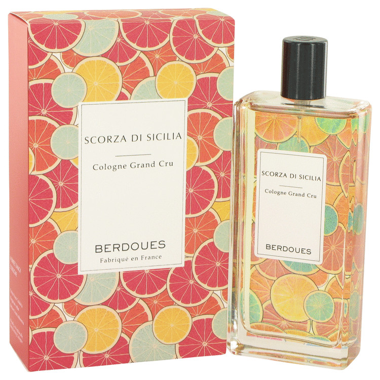 Scorza Di Sicilia by Berdoues 3.68 oz Eau De Toilette Spray for Women