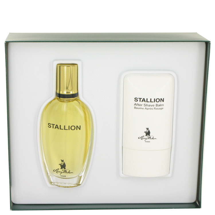 Stallion by Larry Mahan Gift Set -- 1.7 oz Eau De Cologne Spray + 2 oz After Shave Balm for Men