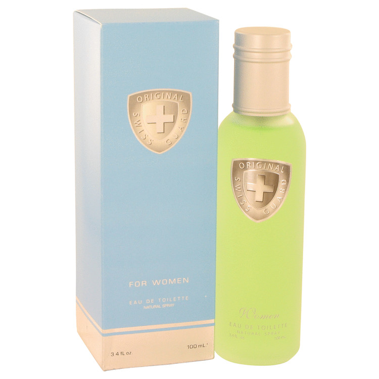 Swiss Guard by Swiss Guard 3.4 oz Eau De Toilette Spray for Women