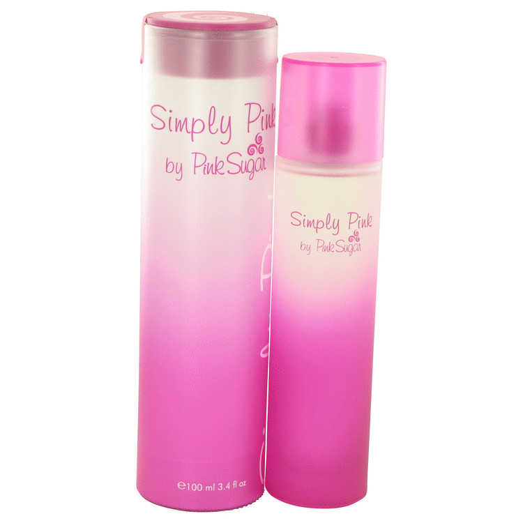 Simply Pink by Aquolina 3.4 oz Eau De Toilette Spray for Women