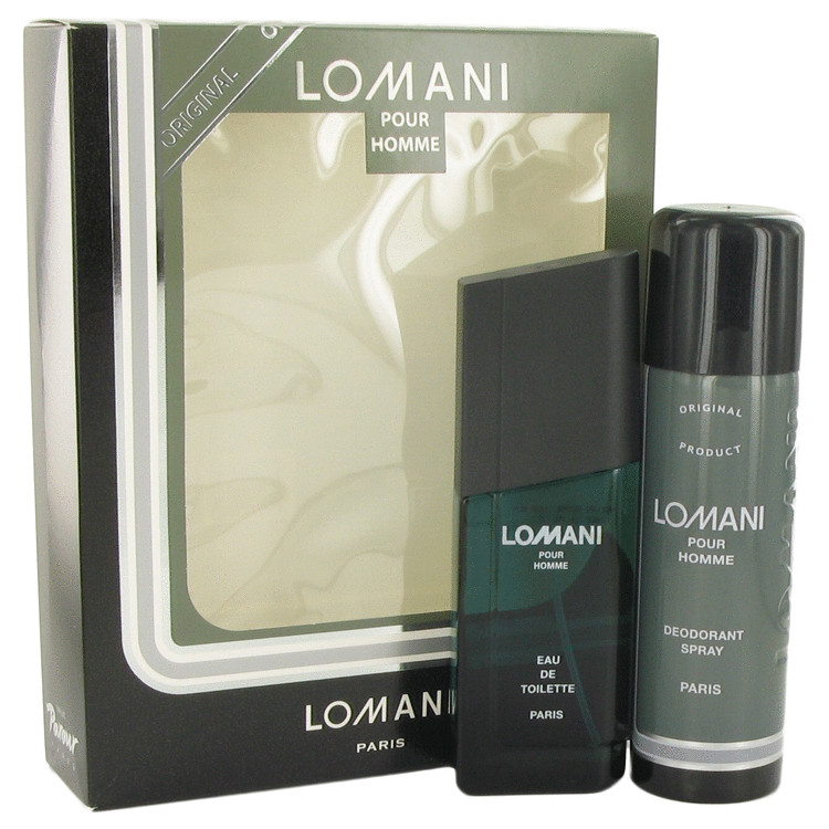 Lomani by Lomani 3.4 oz Eau De Toilette Spray + 6.7 oz Deodorant Spray for Men